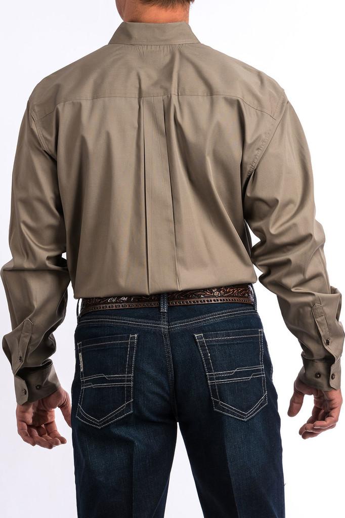 Men's Cinch L/S, Solid Tan