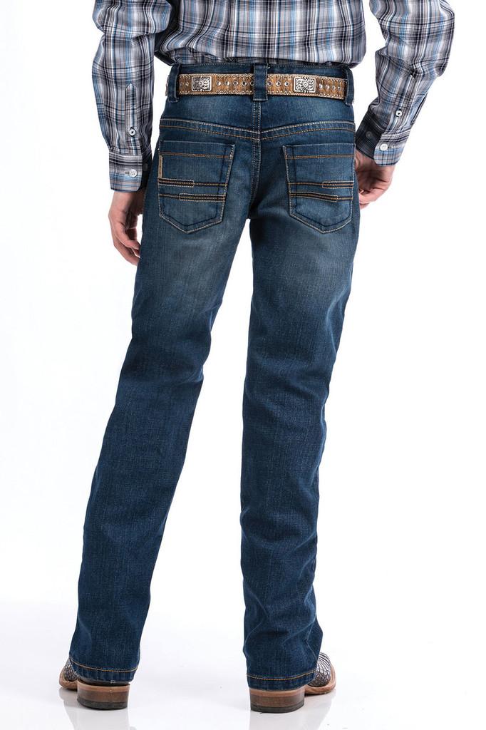 Boys Cinch Jeans, Medium Stonewash, Slim Fit