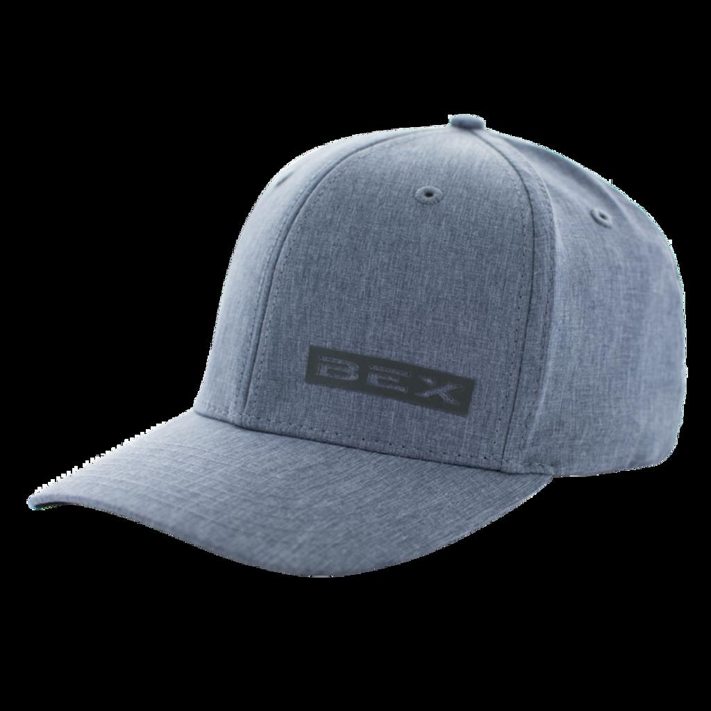Men's Bex Cap, Gray w/ Silver Logo, Smokey