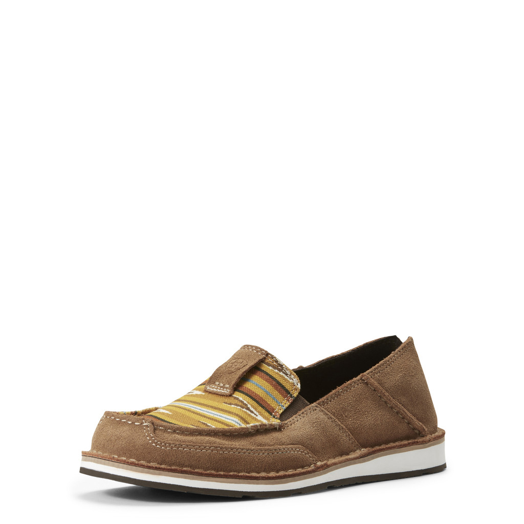 Women's Ariat Cruiser, Navajo Dark Tan and Mustard