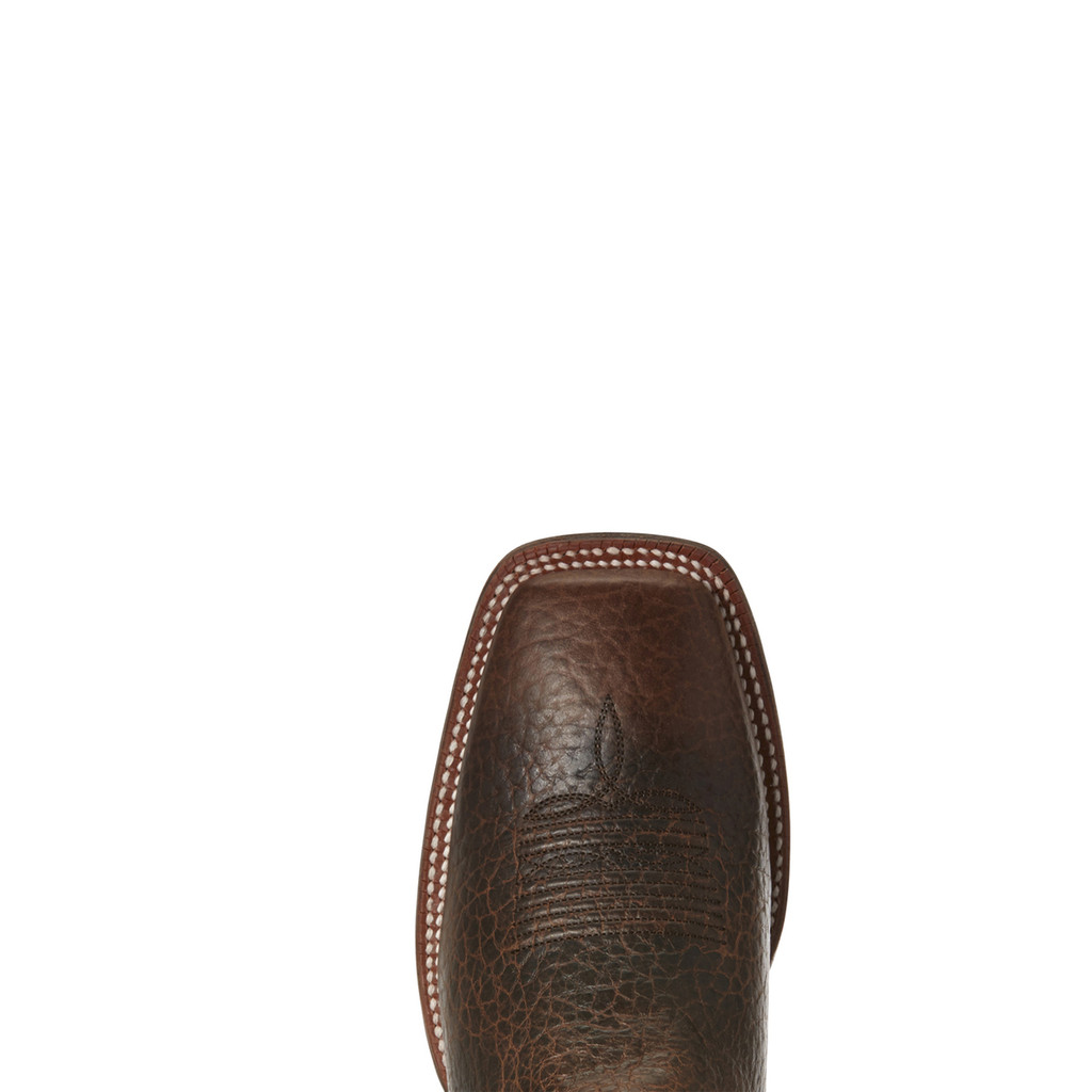 Men's Ariat Boot, Circuit Dayworker, Ivory Shaft, Dark Brown Vamp