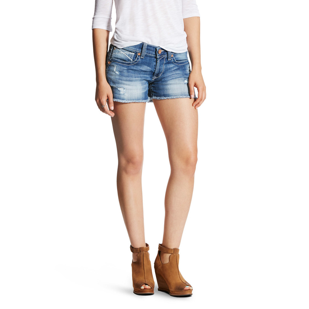 Women's Ariat Shorts, Boyfriend Baseball Stitch