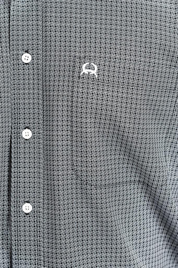 Men's Cinch S/S, Black and White Print