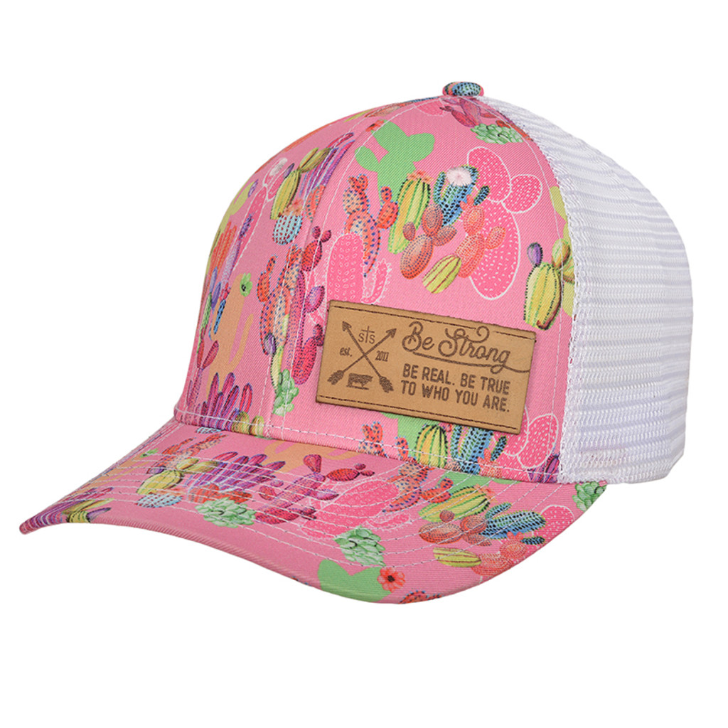 hot sale online 303e8 14ed3 Women s STS Cap, Patch, Cactus and Leather