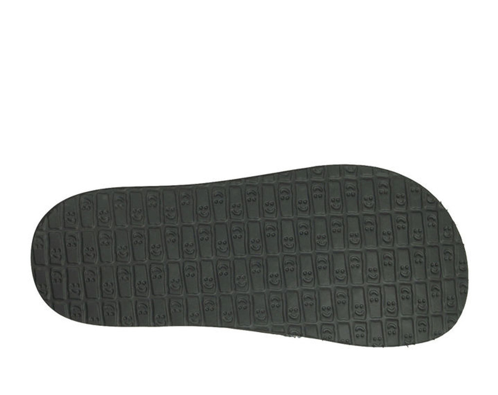 Men's Sanuk Flip Flop, Fault Line, Yoga Mat