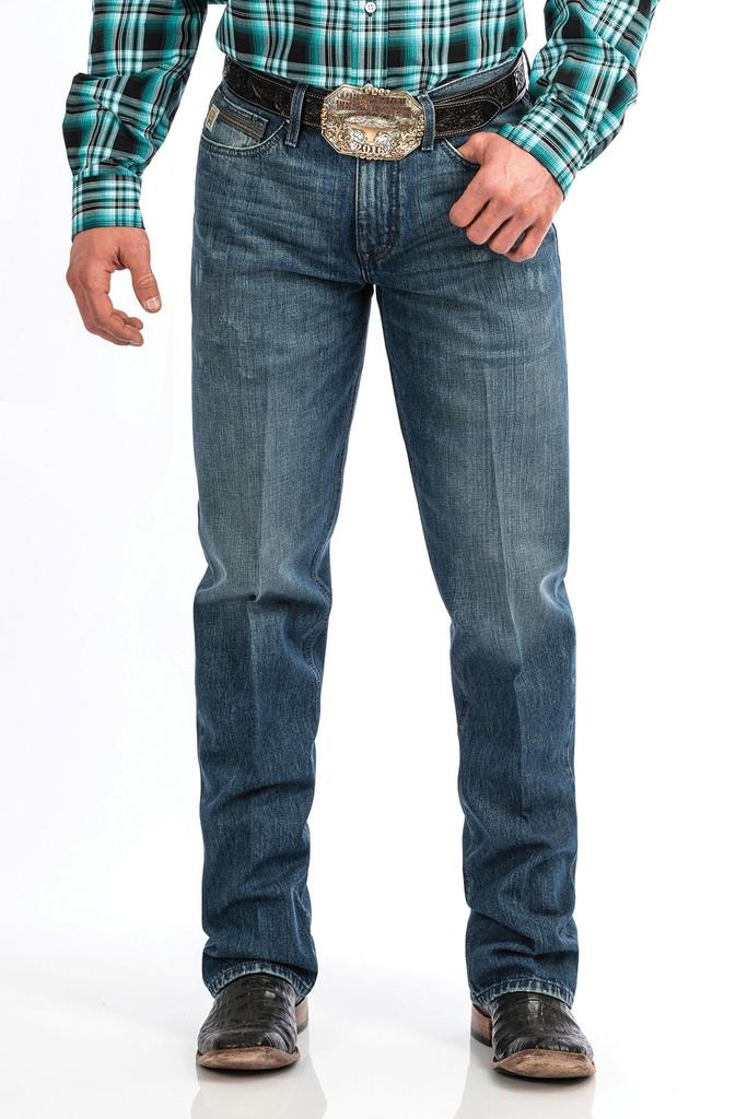 Men's Cinch Jeans, Grant, Medium Stone