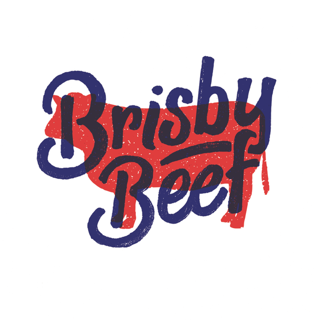 Dale Brisby Decal, Brisby Beef