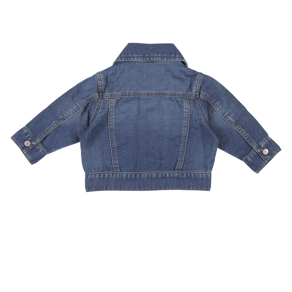 Baby Wrangler Jacket, Denim, Dark