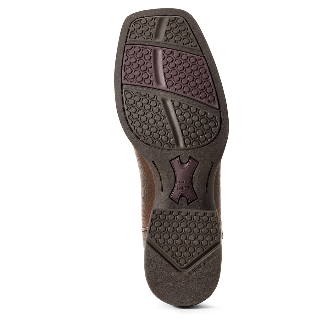Men's Ariat Boot, Round Pen, Copper Kettle Shaft with Dark Tan Vamp