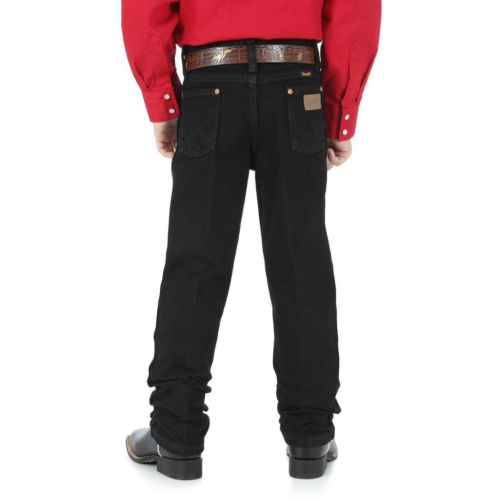 Boys Wrangler Jeans, 13MWZ Originals, Black