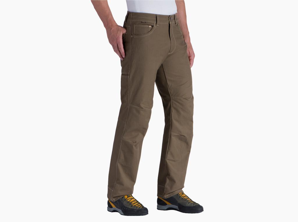 Men's Kühl Pants, Rydr, Dark Khaki, Full Fit