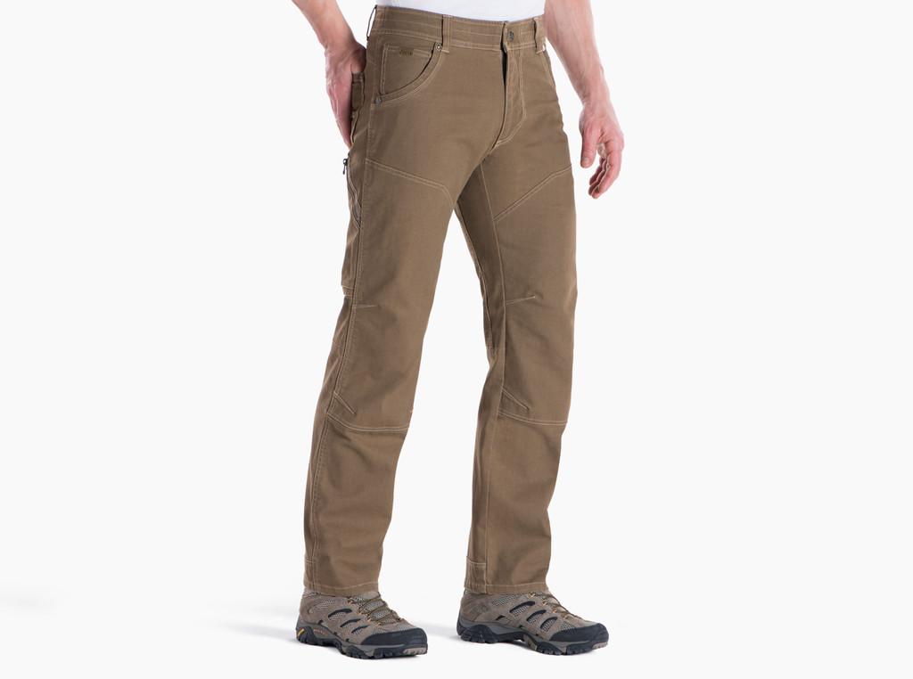 Men's Kühl Pants, The Law, Dark Khaki, Full Fit