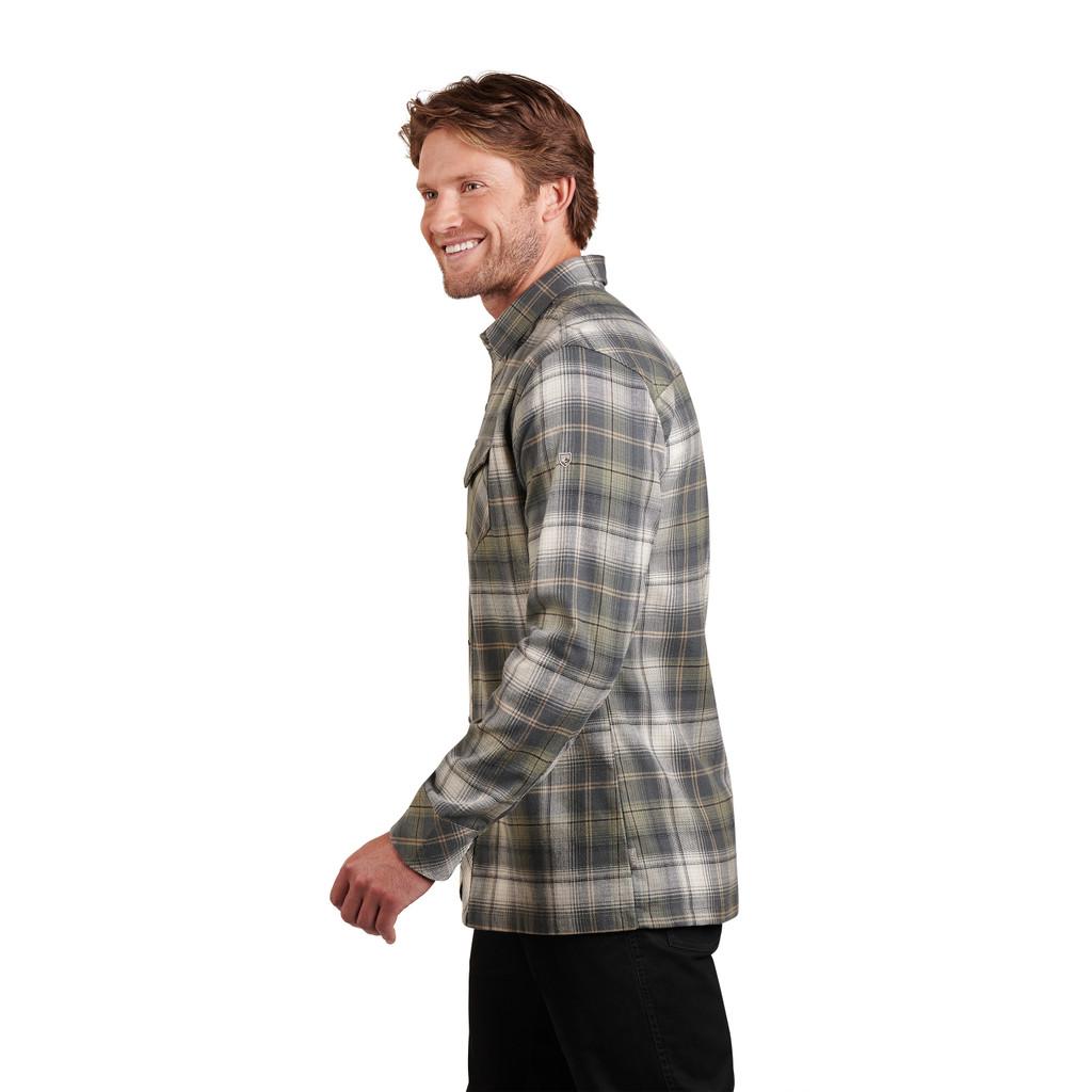 Men's Kühl L/S, Lowdown Flannel, Green Grove