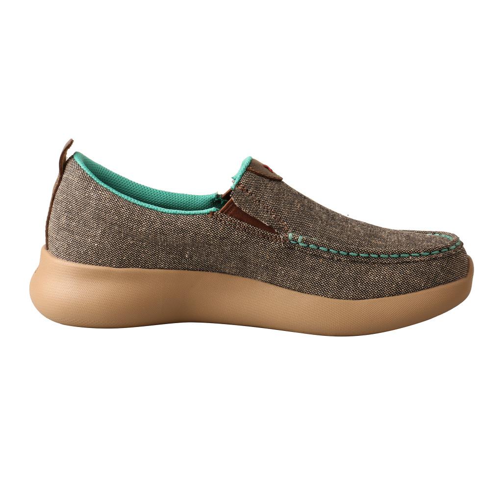 Women's Twisted X Shoe, Slip On EVA12R, Eco Material