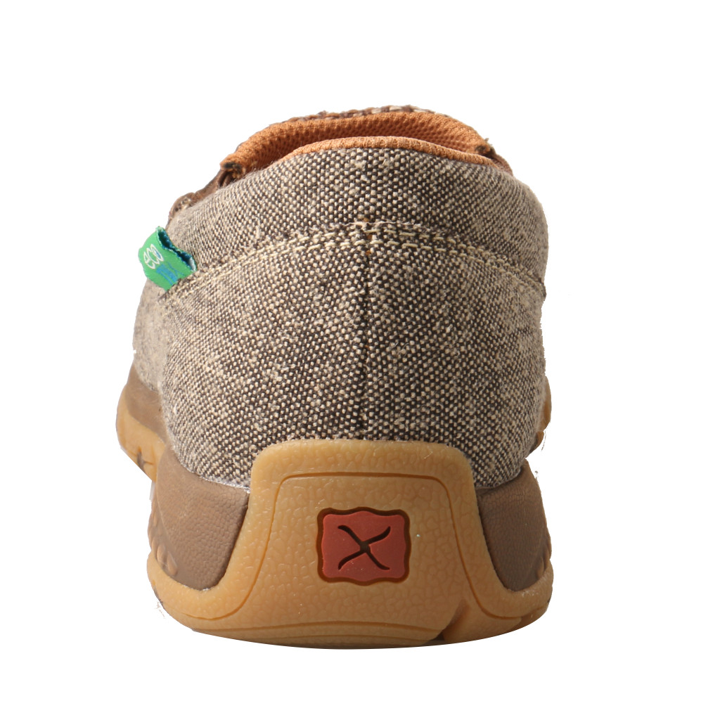 Women's Twisted X Driving Moc, Slip On,  CellStretch, Brown Serape