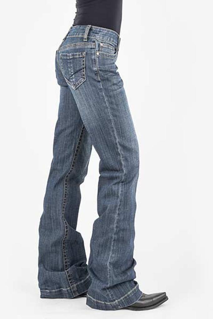 Women's Stetson Jeans, Trouser, Vertical Seam on Pocket