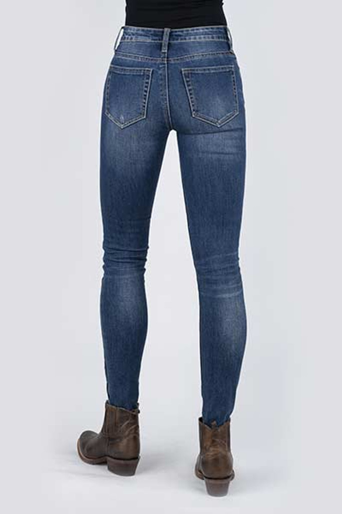 Women's Stetson Jeans, High Rise Skinny