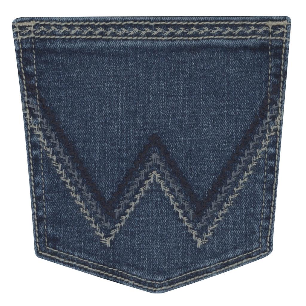 Women's Wrangler Jeans, Willow Ultimate Riding, Davis Wash