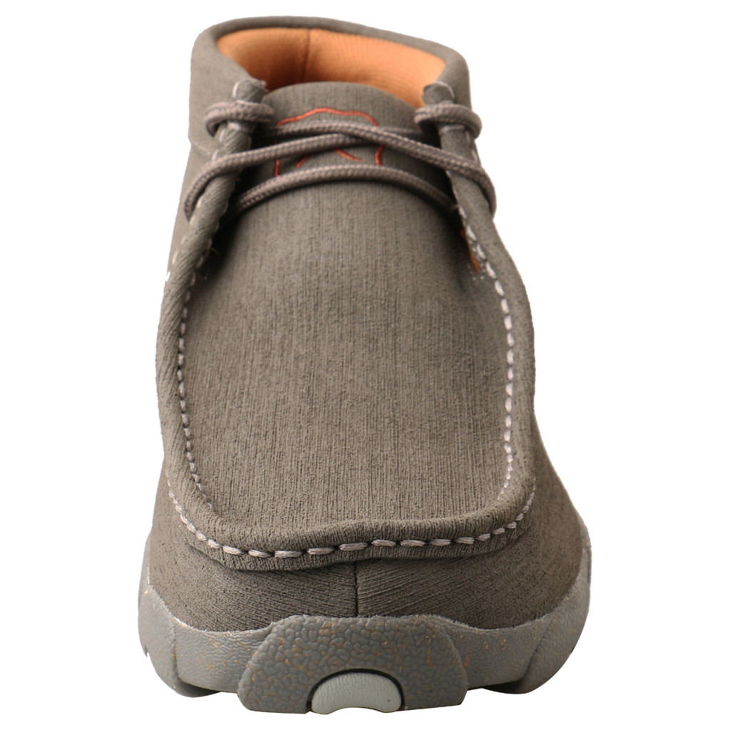 Men's Twisted X Shoe, Gray Driving Moc, Cellstretch