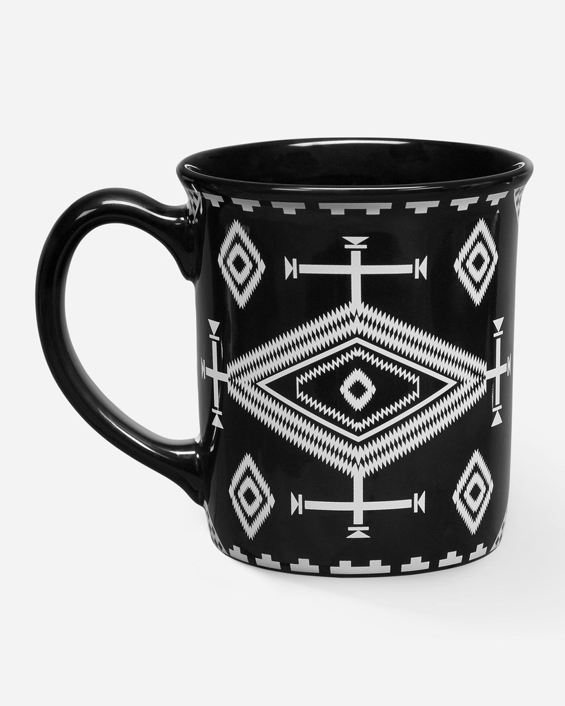 Pendleton Coffee Mug, Los Ojos Black, 18oz