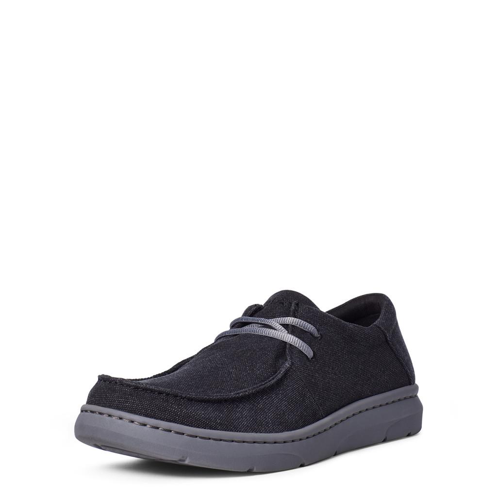 Men's Ariat Shoes, Hilo, Dark Charcoal