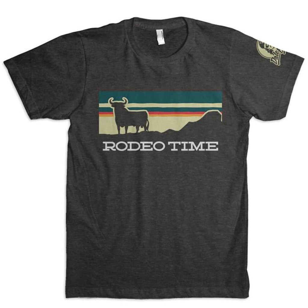 Men's Dale Brisby Tee, Sunset Rodeo Time