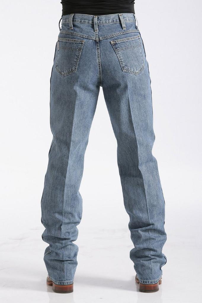 Men's Cinch Jeans, Green Label Medium Stonewash
