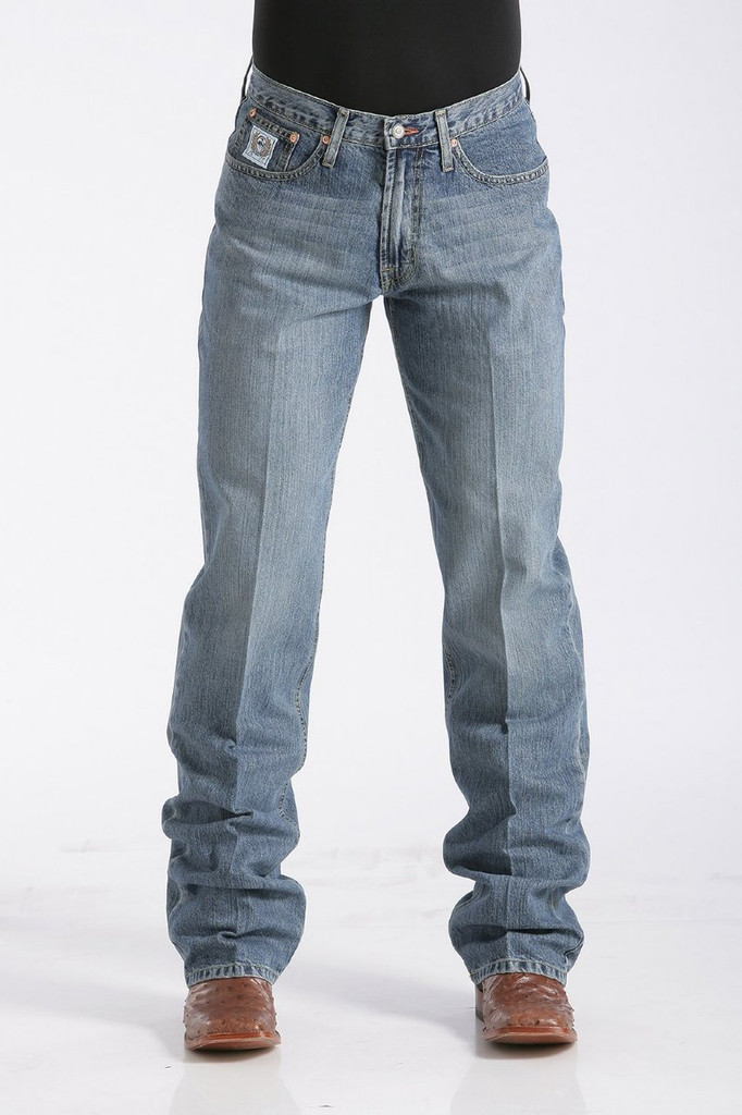 Men's Cinch Jeans, White Label Medium Stone