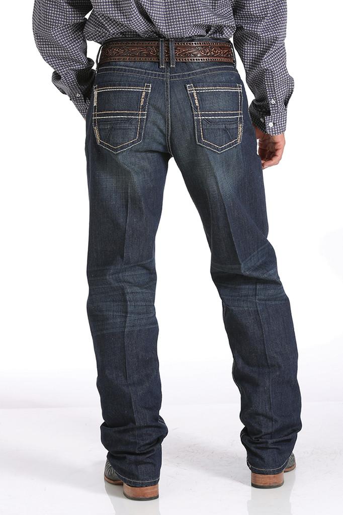Men's Cinch Jeans, Sawyer, Dark Wash