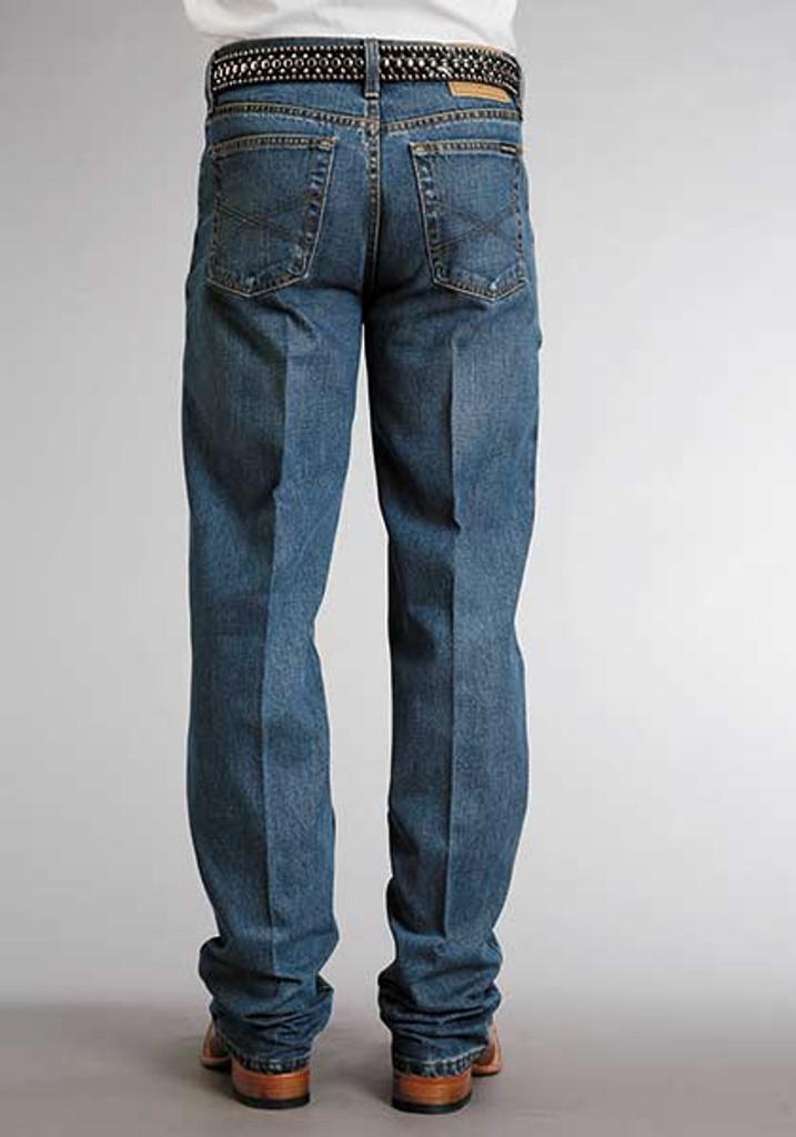 Men's Stetson Jeans, Medium Wash