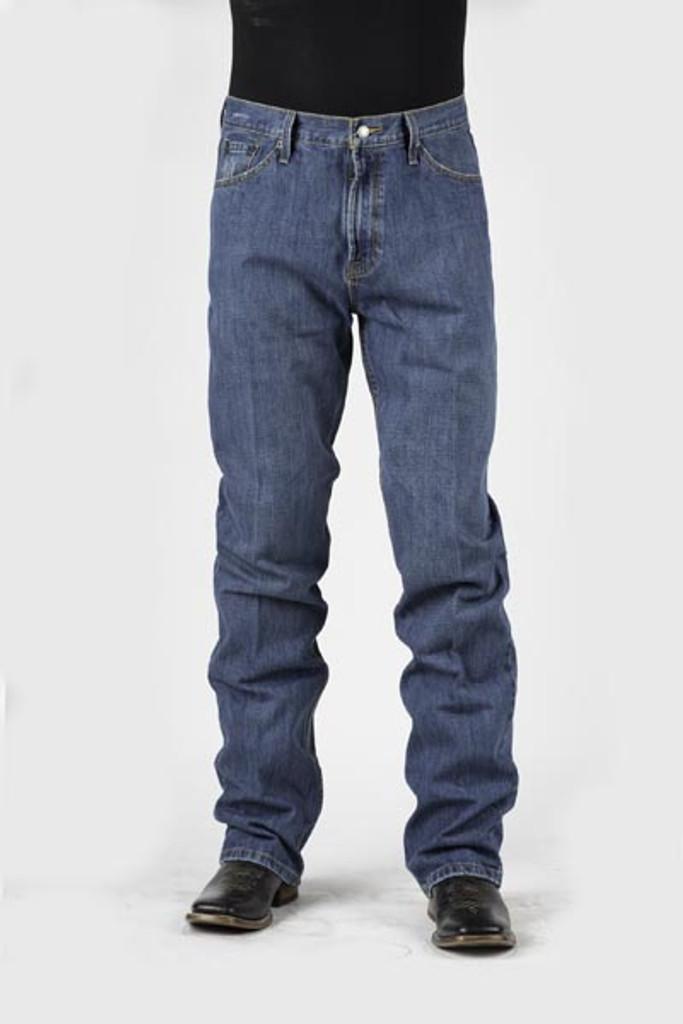 Men's Stetson Jeans, Light Wash