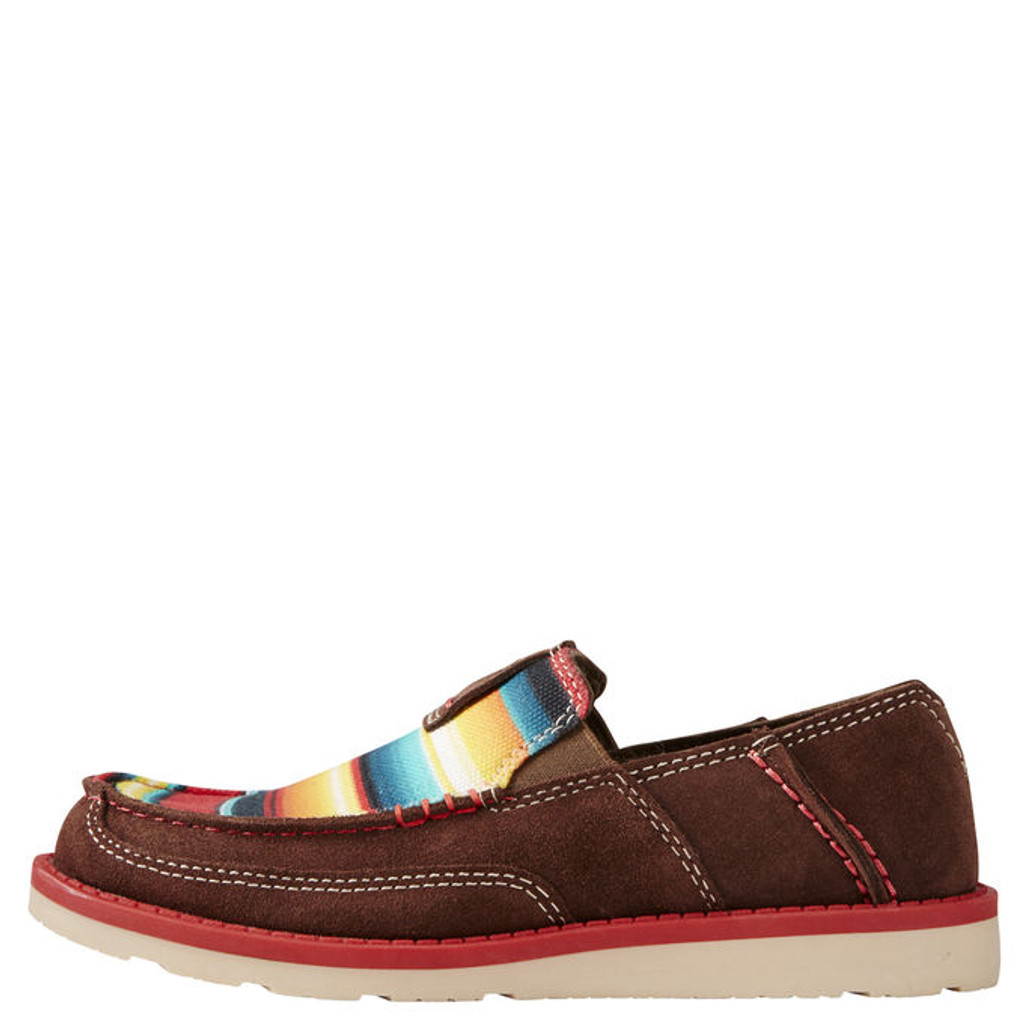 Kids Ariat Cruiser, Brown and Serape