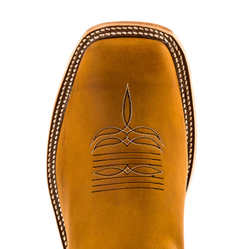 Men's Anderson Bean Boot, Brown Bottom, Navy Top w/ Indian Head