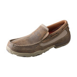 Men's Twisted X Driving Moc, Slip-On Bomber, Mesh Accents
