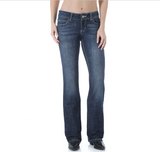 Women's Wrangler Jeans, Boot Cut, W Stitch Pocket, Medium Wash