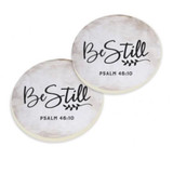 PGD Car Coaster Set, Be Still and Know