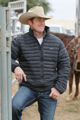 Men's Cinch Jacket, Black, Quilted Down