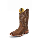 Men's Tony Lama Boot, San Saba Smooth Ostrich, Dark Brown