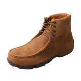 Men's Twisted X Driving Moc, High Top Lace Up, Steel Toe