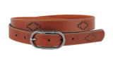 Women's Most Wanted USA Belt, Aztec Print