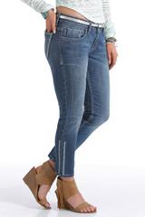 Women's Cruel Girl Jeans, Abby Skinny Crop