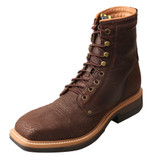 Men's Twisted X Boot, Lace Up, Square Toe, Steel Toe