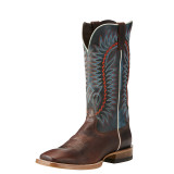 Men's Relentless Boot, Elite, Texaco Cognac Vamp, Orange and Blue Stitching