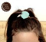 Rowdy Crowd Ponytail, Turquoise Slab