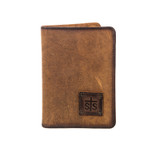 Women's STS Magnetic Wallet, Chocolate Brown