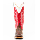 Kids Anderson Bean Boot, Brown Vamp with Tall Red Shaft