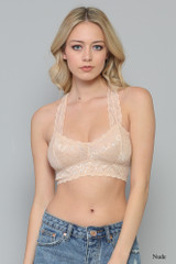 Women's By Together Bralette, Racerback, Lace, Assorted Colors