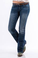 Women's Cruel Girl Jeans, Abby, Medium Stone