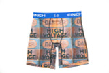 "Men's Cinch Briefs, 9"" High Voltage"