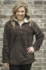 Women's CC Pullover, Sherpa
